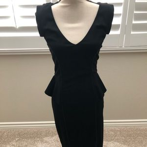 Elegant Black Bebe Dress
